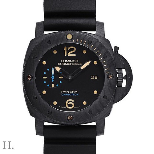 PANERAI LUMINOR SUBMERSIBLE CARBOTECH 3 DAYS AUTOMATIC