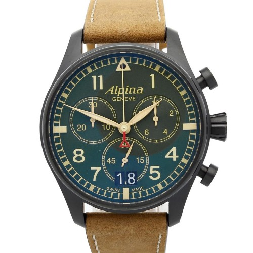 Alpina Startimer Pilot Big Date Chronograph Military