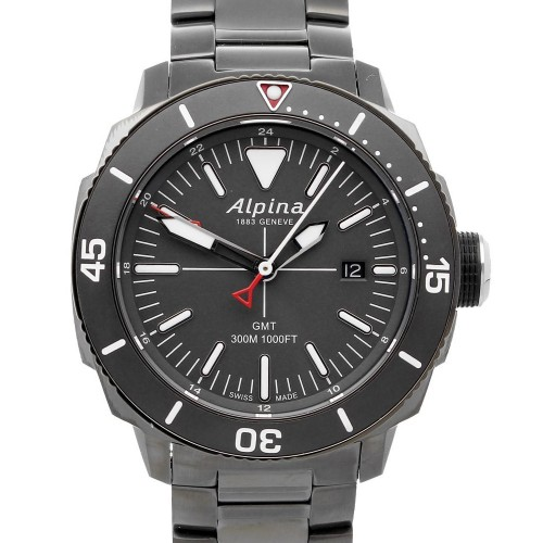 Alpina Seastrong Quartz GMT