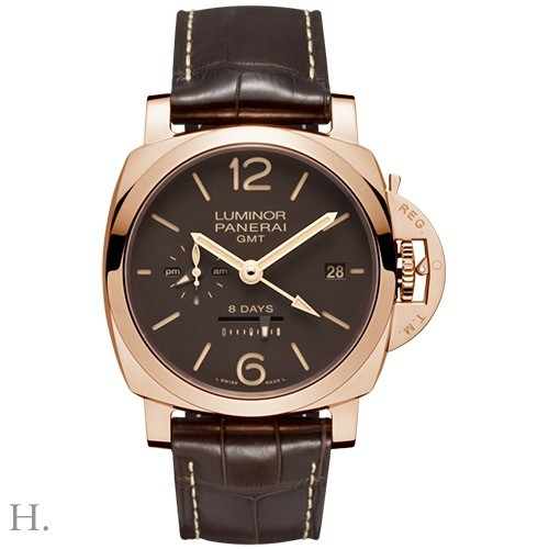 Panerai Luminor 8 Days GMT Oro Rosso