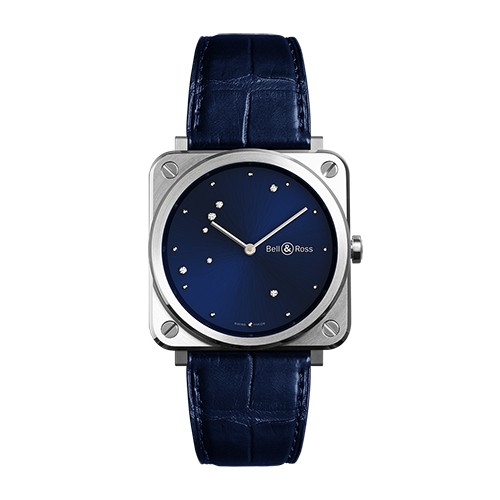 Bell & Ross BR S Blue Diamond Eagle