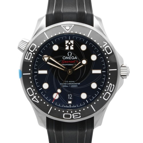 Omega Seamaster Diver 300 M Co-Axial Master Chronometer 42mm James Bond Limited Edition