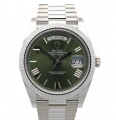 Rolex Day-Date 40 (new warranty)