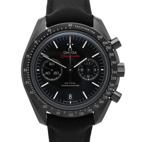 Omega Speedmaster Moonwatch Co-Axial Chronograph Dark Side of the Moon