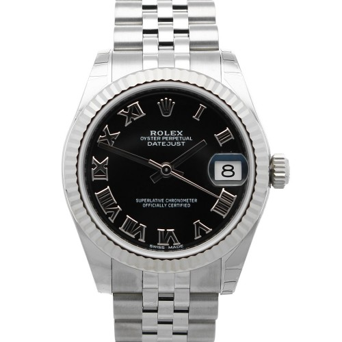 Rolex Datejust 31 black Roman