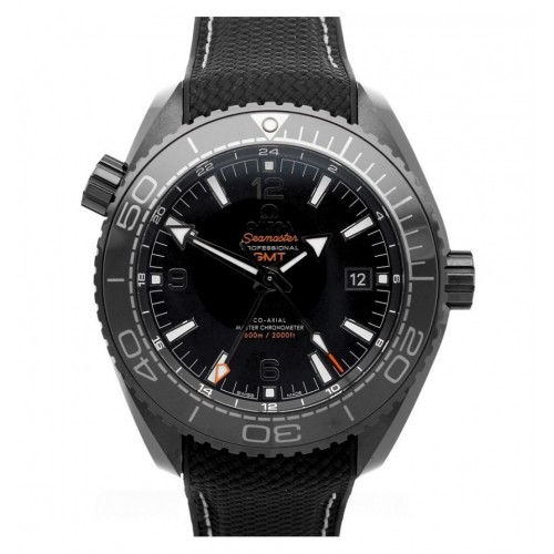 Omega Seamaster Planet Ocean 600 M Co-Axial Master Chronometer GMT 45,5mm Deep Black