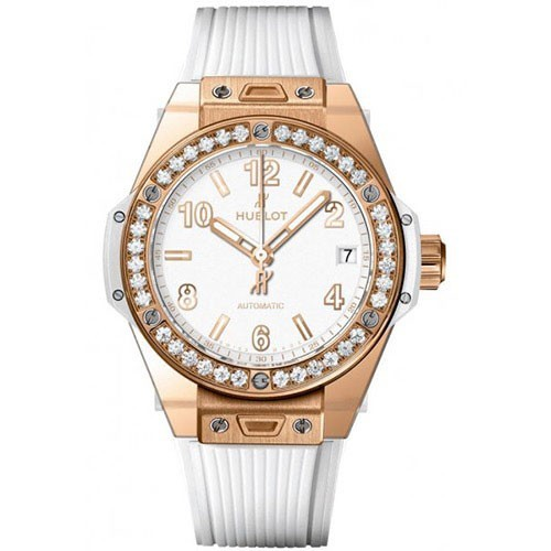 Hublot Big Bang One Click 39mm King Gold White Diamonds