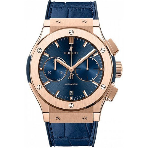 Hublot Classic Fusion 45mm Automatic Chronograph Blue