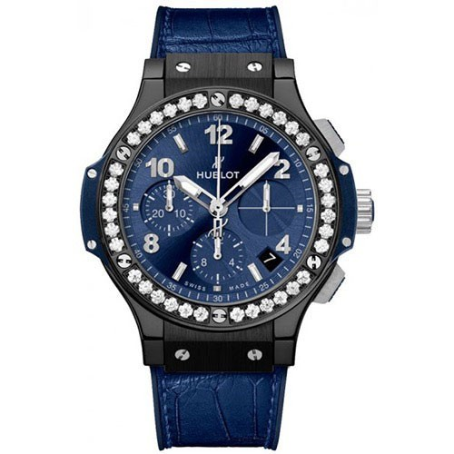 Hublot Big Bang Ceramic Blue Diamonds 41mm