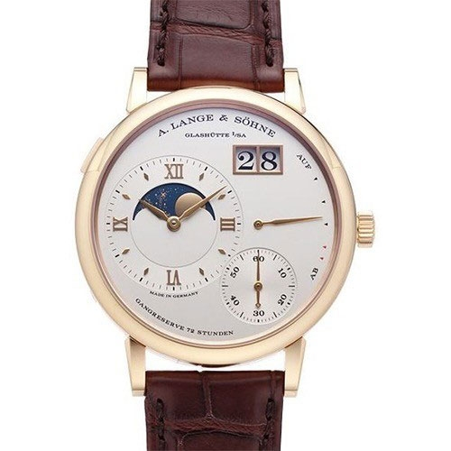A. Lange & Söhne Grosse Lange 1 Moonphase 18 KT Rose Gold