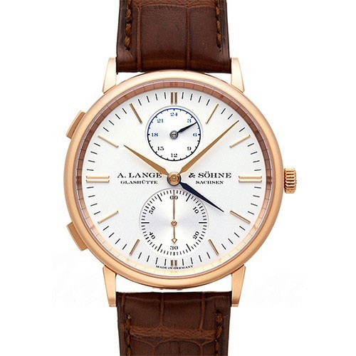 A. Lange & Söhne Saxonia Dual Time Rotgold