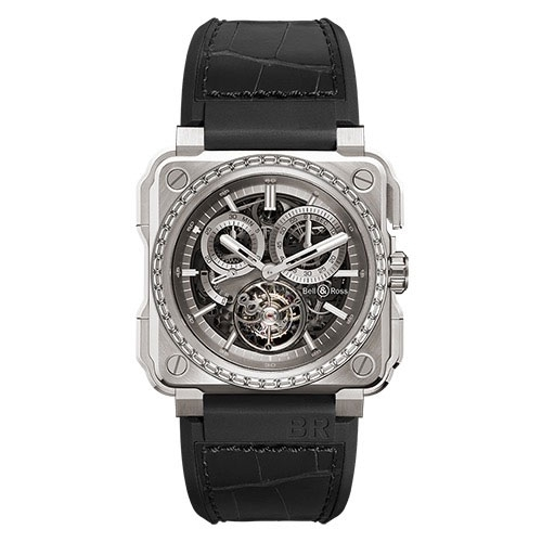 Bell & Ross BR-X1 TOURBILLON TITANIUM Diamonds