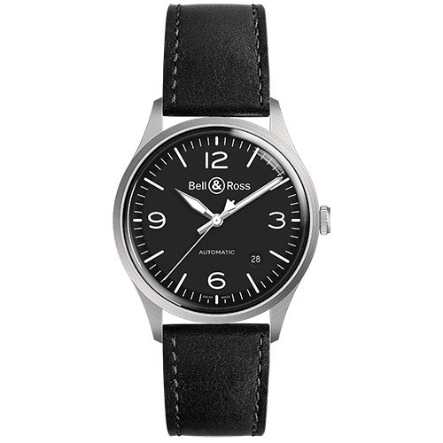 Bell & Ross BR V1-92 BLACK STEEL